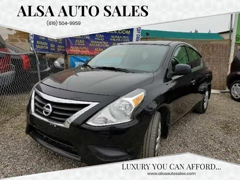 2015 Nissan Versa for sale in El Cajon, CA