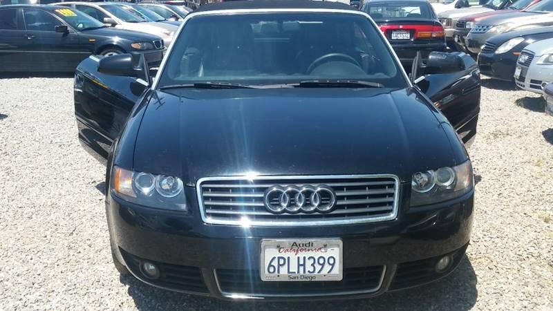 2003 Audi A4 for sale at ALSA Auto Sales in El Cajon CA