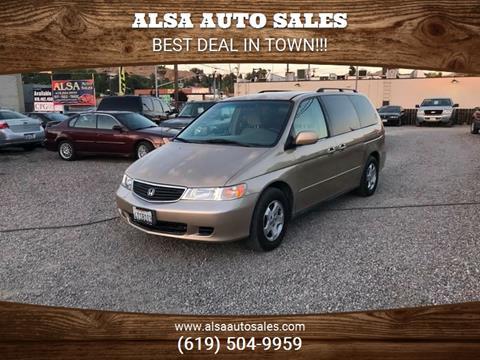 2001 Honda Odyssey for sale in El Cajon, CA