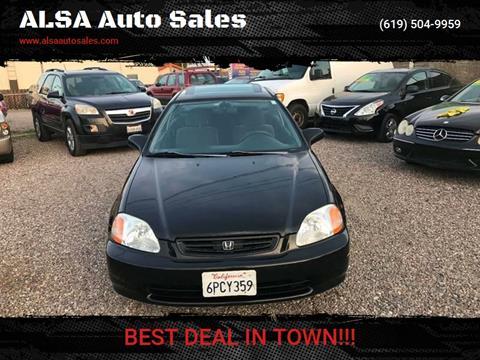 1996 Honda Civic for sale in El Cajon, CA