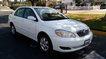 2005 Toyota Corolla for sale at ALSA Auto Sales in El Cajon CA