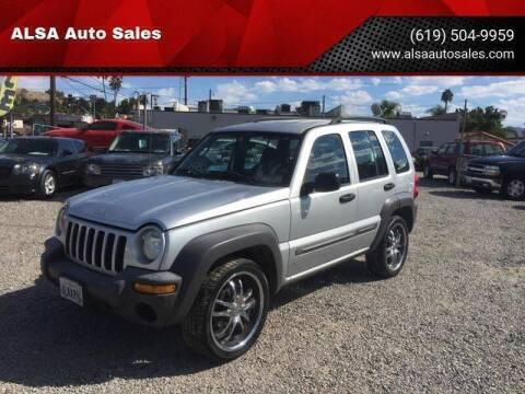 2004 Jeep Liberty for sale in El Cajon, CA