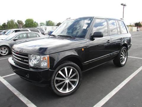 2004 Land Rover Range Rover for sale at ALSA Auto Sales in El Cajon CA