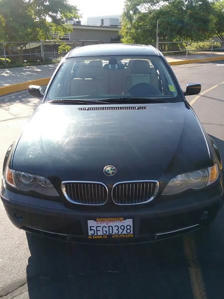 2003 BMW 3 Series for sale at ALSA Auto Sales in El Cajon CA