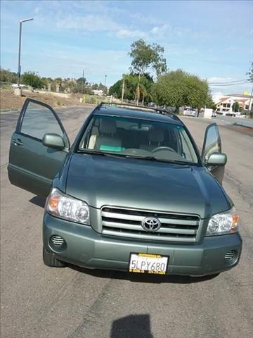 2005 Toyota Highlander for sale in El Cajon, CA