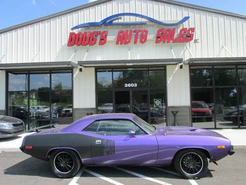 1973 Plymouth Barracuda for sale at DOUG'S AUTO SALES INC in Pleasant View TN