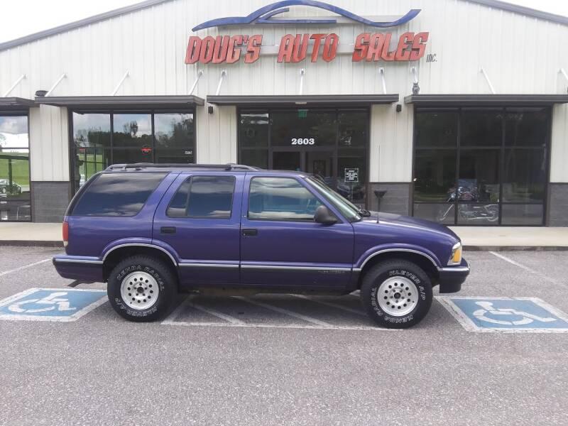 1996 chevrolet blazer 4dr ls 4wd suv in pleasant view tn doug s auto sales inc doug s auto sales