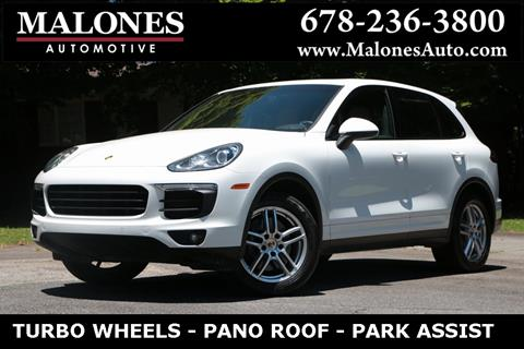 2016 Porsche Cayenne for sale in Marietta, GA