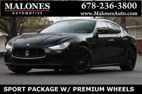2017 Maserati Ghibli for sale in Marietta, GA