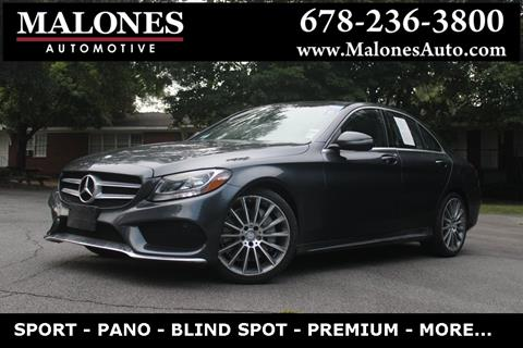 2016 Mercedes-Benz C-Class for sale in Marietta, GA