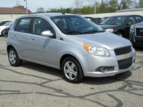 2010 Chevrolet Aveo for sale at Miller Auto Sales in Saint Louis MI