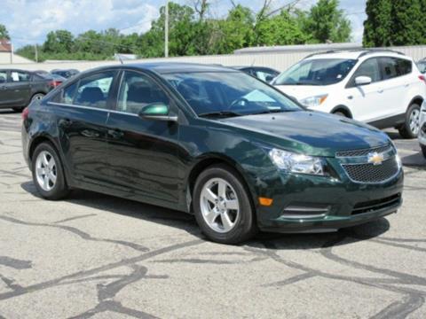 2014 Chevrolet Cruze for sale at Miller Auto Sales in Saint Louis MI