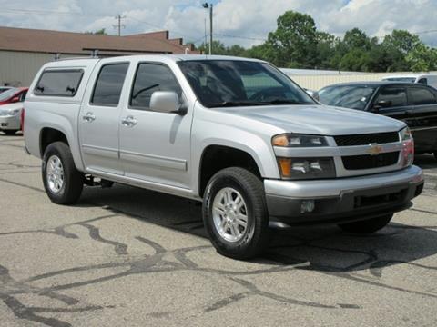 2012 Chevrolet Colorado for sale at Miller Auto Sales in Saint Louis MI