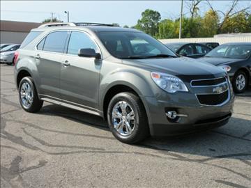 2012 Chevrolet Equinox for sale at Miller Auto Sales in Saint Louis MI