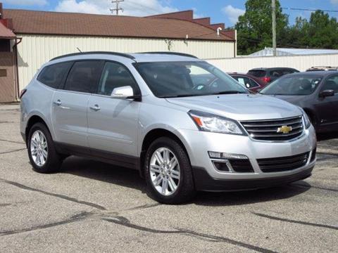 2013 Chevrolet Traverse for sale at Miller Auto Sales in Saint Louis MI