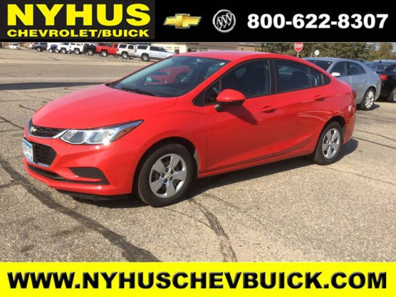 2018 Chevrolet Cruze LS Auto 4dr Sedan - Staples MN