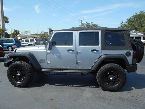 2013 Jeep Wrangler Unlimited for sale at Celebrity Auto Sales in Port Saint Lucie FL