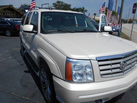 2004 Cadillac Escalade for sale at Celebrity Auto Sales in Port Saint Lucie FL