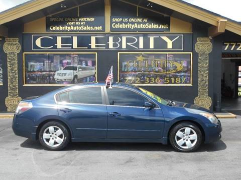 2007 Nissan Altima for sale at Celebrity Auto Sales in Port Saint Lucie FL