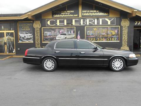 2005 Lincoln Town Car for sale at Celebrity Auto Sales in Port Saint Lucie FL