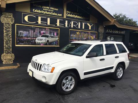 2005 Jeep Grand Cherokee for sale at Celebrity Auto Sales in Port Saint Lucie FL