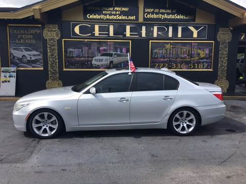 2008 BMW 5 Series for sale at Celebrity Auto Sales in Port Saint Lucie FL