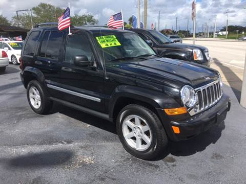 2005 Jeep Liberty for sale at Celebrity Auto Sales in Fort Pierce FL
