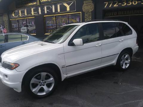 2004 BMW X5 for sale at Celebrity Auto Sales in Port Saint Lucie FL