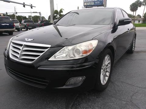 2009 Hyundai Genesis for sale at Celebrity Auto Sales in Port Saint Lucie FL