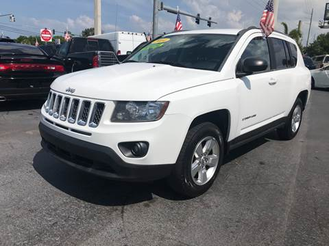 2014 Jeep Compass for sale at Celebrity Auto Sales in Port Saint Lucie FL