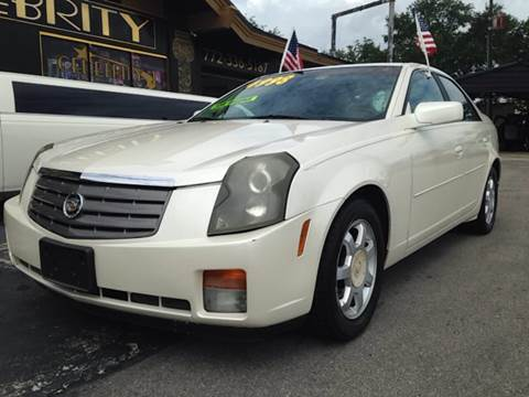 2003 Cadillac CTS for sale at Celebrity Auto Sales in Port Saint Lucie FL