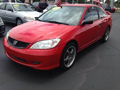 2005 Honda Civic for sale at Celebrity Auto Sales in Fort Pierce FL