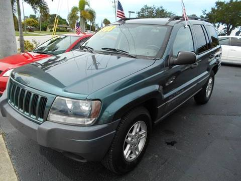 2004 Jeep Grand Cherokee for sale at Celebrity Auto Sales in Port Saint Lucie FL