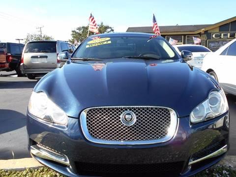 2009 Jaguar XF for sale at Celebrity Auto Sales in Port Saint Lucie FL
