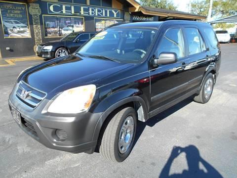 2006 Honda CR-V for sale at Celebrity Auto Sales in Fort Pierce FL