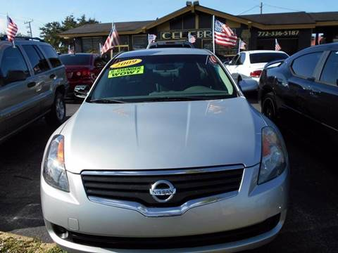 2009 Nissan Altima for sale at Celebrity Auto Sales in Port Saint Lucie FL