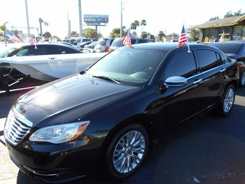 2012 Chrysler 200 for sale at Celebrity Auto Sales in Port Saint Lucie FL