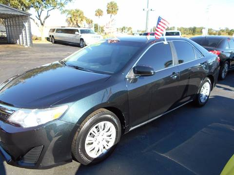 2012 Toyota Camry for sale at Celebrity Auto Sales in Port Saint Lucie FL