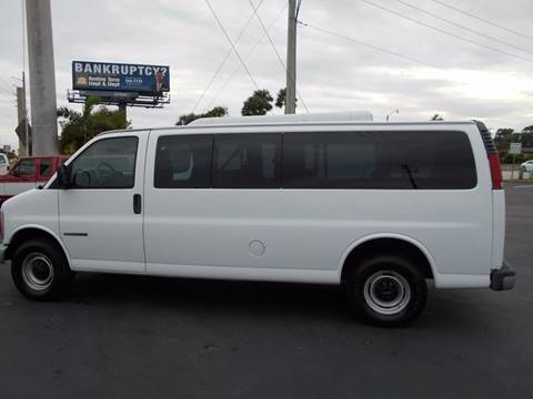 2002 GMC Savana Passenger for sale at Celebrity Auto Sales in Port Saint Lucie FL