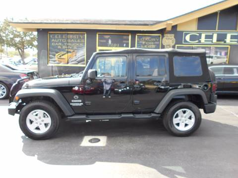 2014 Jeep Wrangler Unlimited for sale at Celebrity Auto Sales in Port Saint Lucie FL