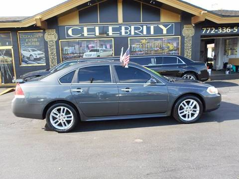 2010 Chevrolet Impala for sale at Celebrity Auto Sales in Port Saint Lucie FL