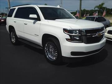 2015 Chevrolet Tahoe for sale at Celebrity Auto Sales in Port Saint Lucie FL