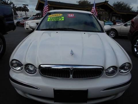 2003 Jaguar X-Type for sale at Celebrity Auto Sales in Port Saint Lucie FL