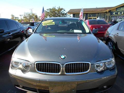 2004 BMW 7 Series for sale at Celebrity Auto Sales in Fort Pierce FL