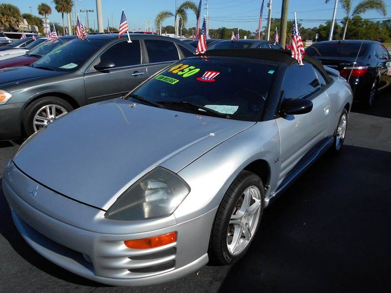 2002 Mitsubishi Eclipse Spyder for sale at Celebrity Auto Sales in Port Saint Lucie FL