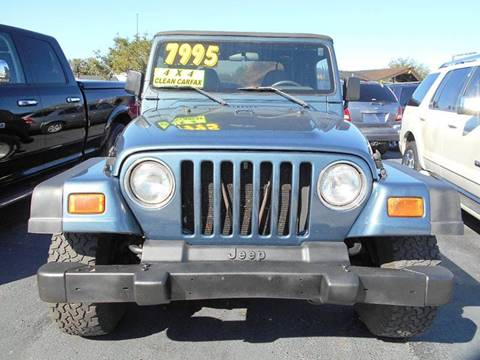 2001 Jeep Wrangler for sale at Celebrity Auto Sales in Port Saint Lucie FL