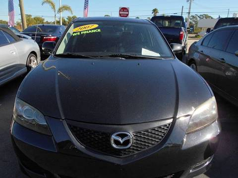 2007 Mazda MAZDA3 for sale at Celebrity Auto Sales in Port Saint Lucie FL