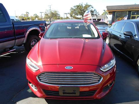 2013 Ford Fusion for sale at Celebrity Auto Sales in Port Saint Lucie FL