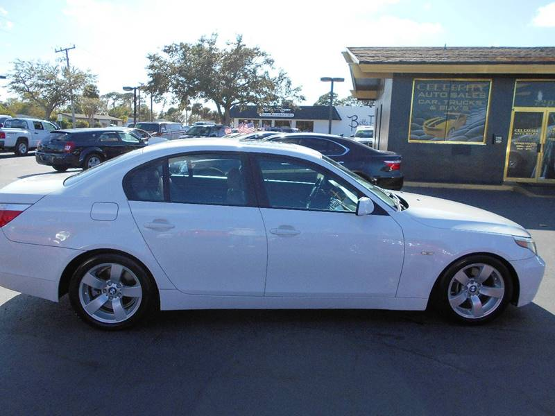 2007 BMW 5 Series for sale at Celebrity Auto Sales in Port Saint Lucie FL