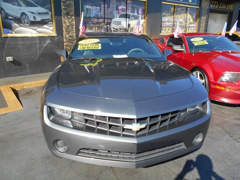 2011 Chevrolet Camaro for sale at Celebrity Auto Sales in Port Saint Lucie FL
